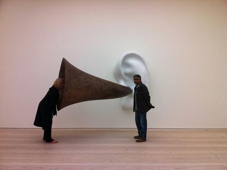 Beethoven's Trumpet (With Ear) Opus # 133  By John Baldessari | DESARTSONNANTS - CRÉATION SONORE ET ENVIRONNEMENT - ENVIRONMENTAL SOUND ART - PAYSAGES ET ECOLOGIE SONORE | Scoop.it