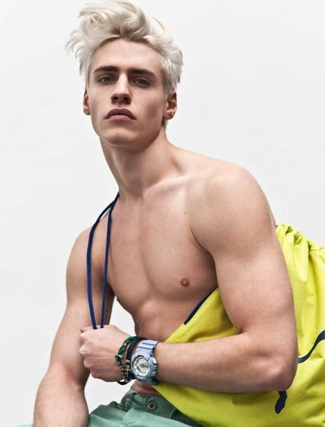 Oliver Stummvoll for Style Up Your Life! Magazine S/S 2016 | THEHUNKFORM.NET | Scoop.it