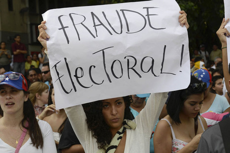 Venezuela's Disputed Election | Best of Photojournalism | Scoop.it