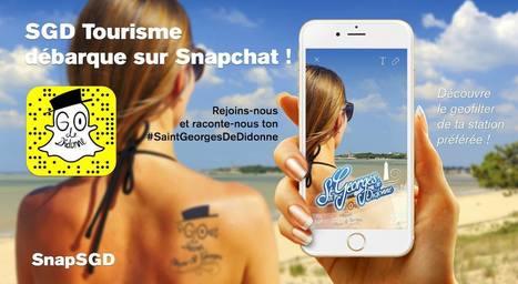 L'expérience Snapchat de l'Office de Tourisme de Saint-Georges-de-Didonne | Etourisme.info | E-Tourisme et Animation numérique du territoire | Scoop.it