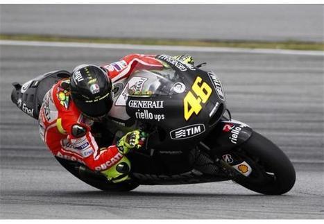 Rossi Sepang - Day 1   MotoGP World   Scoop.it