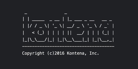 Kontena 1.0 ASCII Art Logo Contest | ASCII Art | Scoop.it