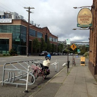 Bike corrals will save the world | Cycling in Washington | Scoop.it