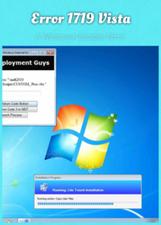 Error 1719 Vista: A Windows Installer Error | Computer Safety, Security, Optimization | Scoop.it