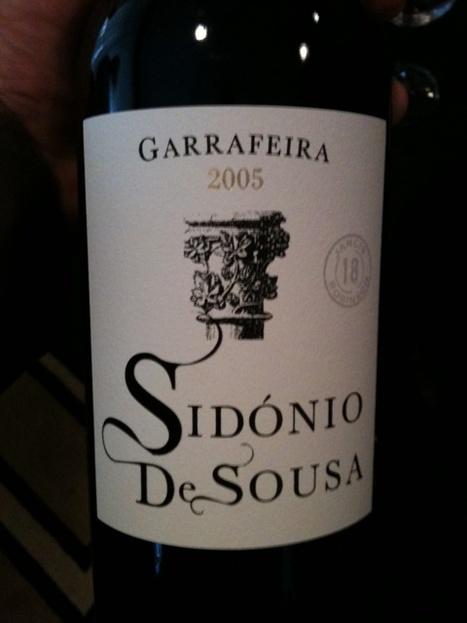 Sidónio Sousa Garrafeira (2005) | Wine Lovers | Scoop.it
