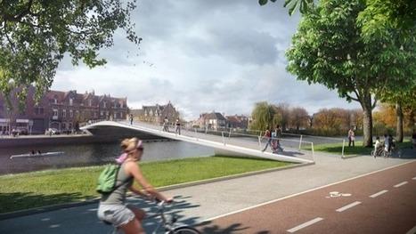Saint-Omer : une nouvelle passerelle pour relier le bas de la ville aux quartiers des gares et du Malixoff - Chronique du BTP | DVVD Architectes Ingénieurs Designers | Scoop.it