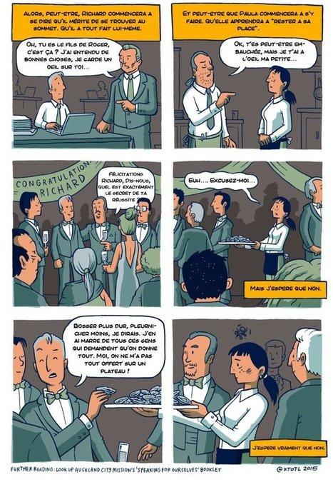 Cette petite bande dessinée explique de manière choquante de réalisme pourquoi l'égalité des chances n'existe pas   La Transition sociétale inéluctable   Scoop.it