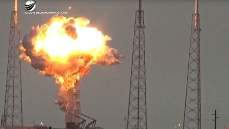 SpaceX Rocket Explosion Captured on Dramatic Video | Passionate About Science and Technology! | Scoop.it