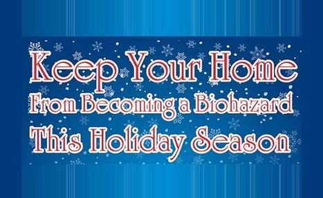 Visualistan: Keep Your Home From Becoming A Biohazard This Holiday Season [Infographic] | Health | Scoop.it