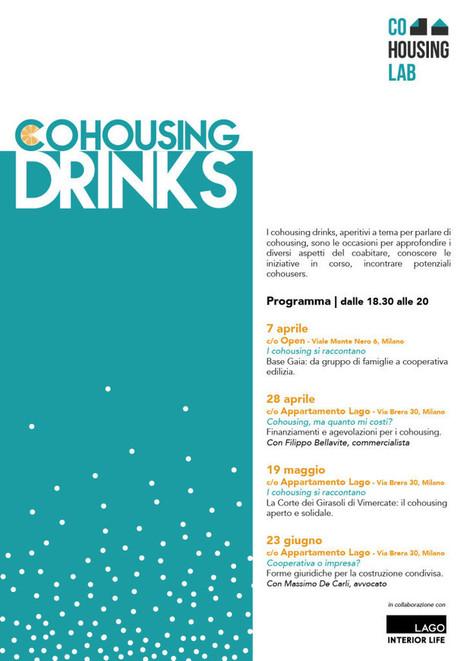 Arrivano i Cohousing Drinks | COHOUSING ITALIA | Scoop.it