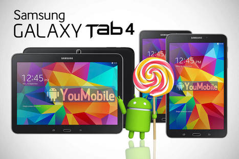[Firmware Download] Samsung Galaxy Tab 4 10.1 LTE New official Android 5.0.2 Lollipop Build is Rolling-out | YouMobile | Scoop.it