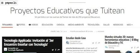 educomunicacion.com: Un periódico con más de 250 proyectos educativos que tuitean | educacion-y-ntic | Scoop.it