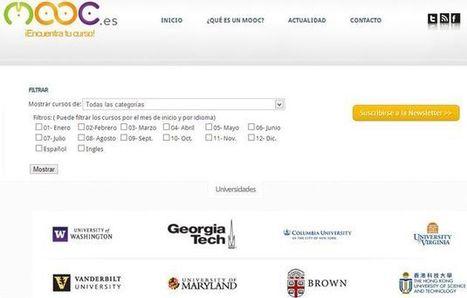 Mooc, buscador de cursos gratuitos en español próximos a su inicio | Recull diari | Scoop.it