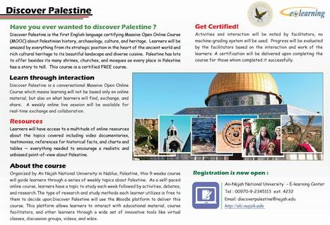 Welcome to Discover Palestine | E-Learning Center | Innovative Education | Scoop.it