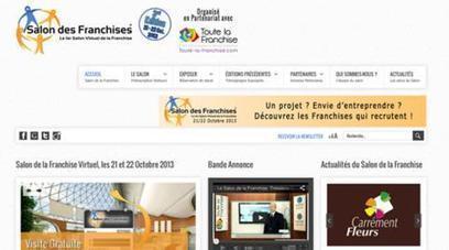 Franchise : nouvelle édition du Salon virtuel des franchises en octobre   COURRIER CADRES.COM   Franchise 2.0   Scoop.it