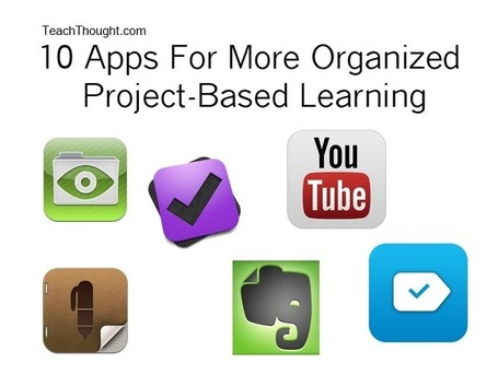 10 Apps For More Organized Project-Based Learning | Connected Learning | Scoop.it