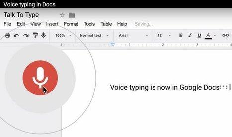 Google Docs introduce varias mejoras importantes, incluida escritura por voz en 40 idiomas | GeeksRoom | TIC a l'escola | Scoop.it