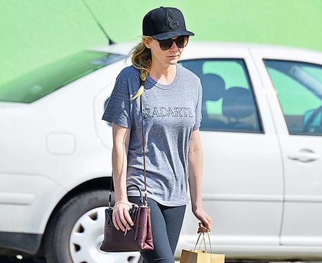 Kirsten Dunst Grabs Lunch with a Coach Bag - PurseBlog   Retail   Scoop.it
