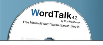 WordTalk - A free text-to-speech plugin for Microsoft Word | Into the Driver's Seat | Scoop.it