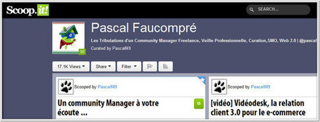 Comment valoriser son expertise et son image avec une curation sur Scoop.it ? - Pascal Faucompré | Geek 2015 | Scoop.it