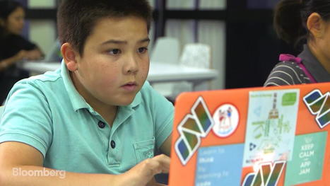 Latest Craze for Chinese Parents: Kids Coding Classes | Christian Querou | Scoop.it
