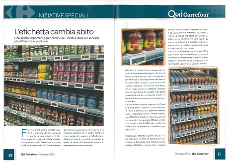 Carrefour Market deploys SES solution in Italy | SES ESL | Scoop.it