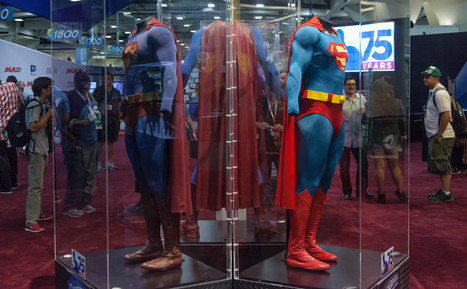 Fashion tugs on Superman's cape at Comic-Con - CNET (blog) | Geek Topics | Scoop.it