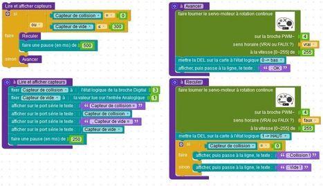 Blockly Arduino : l'esprit d'Ardublock, sans ses inconvénients ! | Pédagogie & Technologie | Scoop.it
