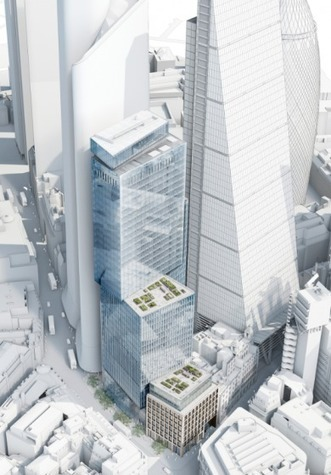Japanese developer plans 40-storey #London tower   #Construction | retail and design | Scoop.it