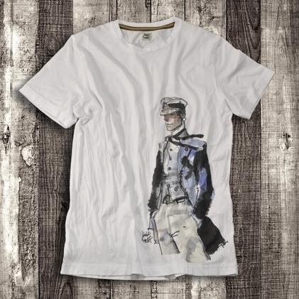 T-shirt: Hugo Pratt for Corto Maltese | DailyComics | Scoop.it
