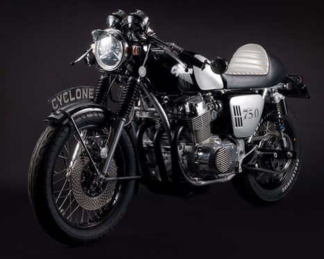 The Cyclone CAFE RACER | CB750Cafe.com | vintage motos | Scoop.it