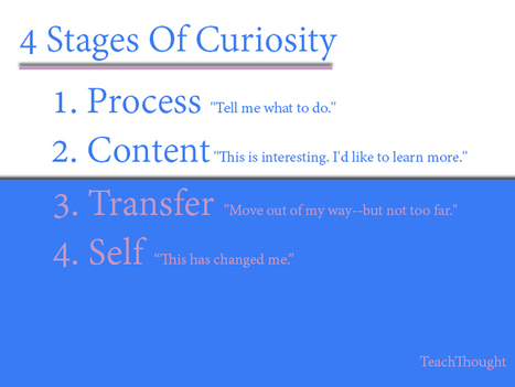 Four stages of curiosity | Linguagem Virtual | Scoop.it