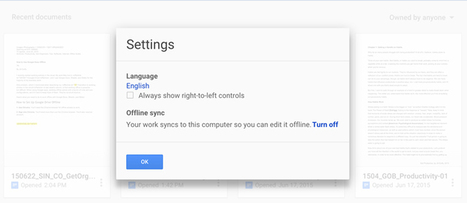 How to Set Up and Use Google Docs Offline | Using Google Drive in the classroom | Scoop.it