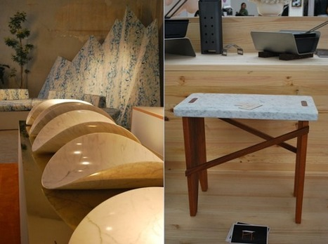 Femkeido: Trends at the Salone del Mobile #1 Marble   Tendances déco - interior trends   Scoop.it