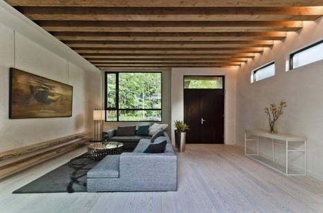 Ecologia Montréal: a contemporary LEED Platinum home by Gervais Fortin | PROYECTO ESPACIOS | Scoop.it