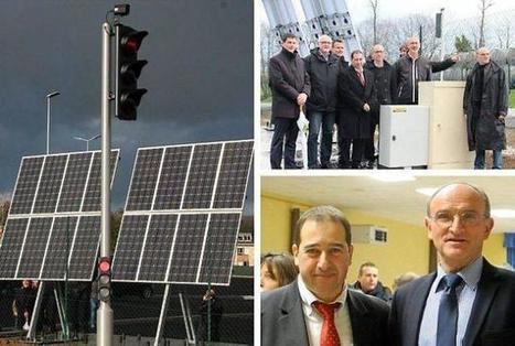 Innovation. Un feu tricolore solaire intelligent, une première en Europe   Prévention et Signalisation Routière   Scoop.it