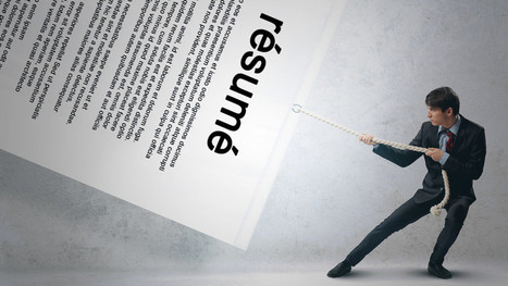 Tips from a Recruiter: Don't Make Me Read Your Resume | The Avanti Group LLC | Scoop.it
