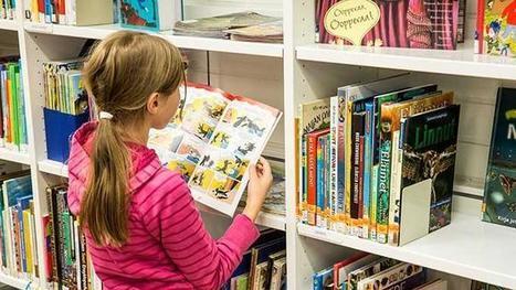 Vapautunut kirja kelluu | HelMet | Kirjastoista, oppimisesta ja oppimisen ympäristöistä | Scoop.it