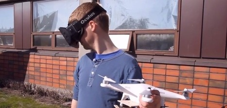 Here's What Happens When You Strap An Oculus-Controlled Video Camera To A Drone And Take It For A Spin    TechCrunch   Heron   Scoop.it