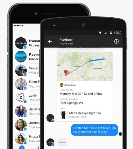 Facebook Launches Messenger Platform For Content Tools And Chat With Businesses | Content Creation, Curation, Management | Scoop.it