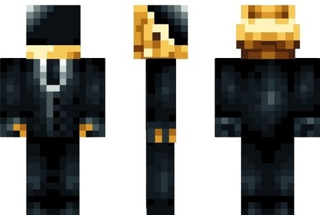 PixeledMe Minecraft | Daft Punk Minecraft Skin | Elena Restrepo | Scoop.it