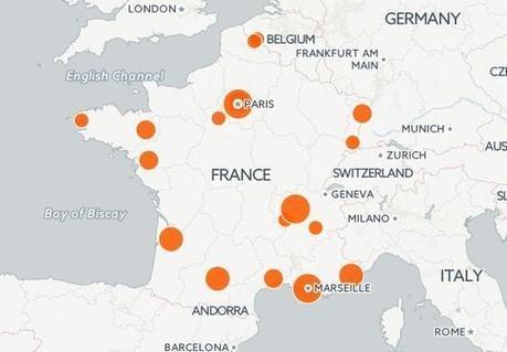 Smart cities : la carte des villes intelligentes en France | La Ville , demain ? | Scoop.it