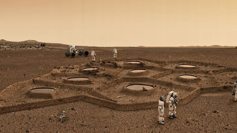 Could Future Astronauts 3D Print Habitats Using Mars and Moon Soil? | Gizmodo | The NewSpace Daily | Scoop.it