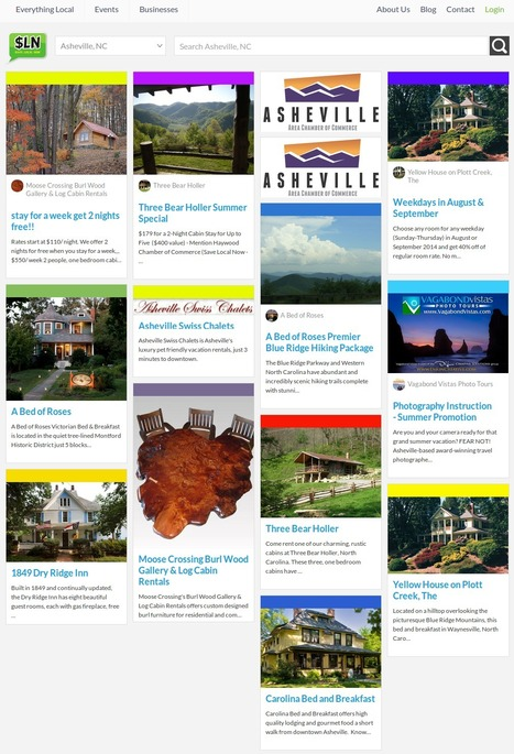 Enjoy Great Deals & Offers on Travel Available in Asheville, NC Area   Discover the best Online Deals, Offers & Current Events Online in your Area   Scoop.it