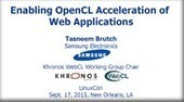 WebCL Update from Samsung | LEAP Blog and Conference | opencl, opengl, webcl, webgl | Scoop.it