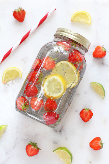 7 Flavored Water Combos to Make at Home | Nutrition Today | Scoop.it