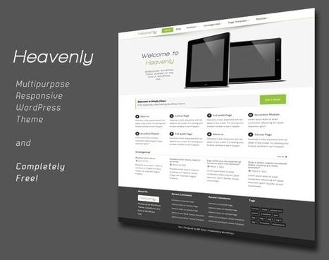 Heavenly - Multipurpose WordPress Theme - WP Eden | WordPress | Scoop.it