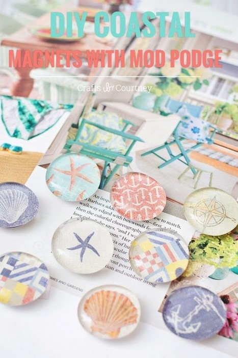 DIY Magnets with Mod Podge | News | Scoop.it
