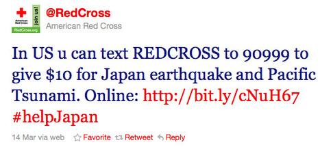 Comment La Croix Rouge utilise Twitter | blog.madmagz.com | Web Marketing Magazine | Scoop.it