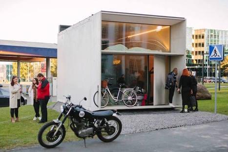 La KODA : l'habitation ultra-minimaliste écologique et amovible -mrmondialisation | architecture..., Maisons bois & bioclimatiques | Scoop.it